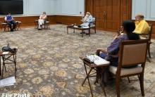 प्रधानमंत्री की अध्यक्षता में कैबिनेट की बैठक