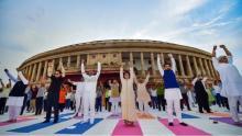 LS Speaker Om Birla launches Fit India drive in Parliament complex