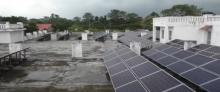 Assam's Tezpur University generates electricity from solar power