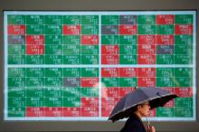 Asia stocks hesitant as bonds boosted by Turkish tumult