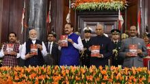 Constitution Day: President, Vice President & PM address  special joint sitting of Parliament