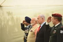 PM Modi pays homage to Indian soldiers at Haifa