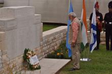 PM Modi pays homage to Indian World War I heroes