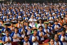 PM Modi leads 4th International Yoga Day