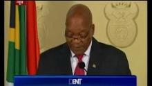 South Africa's Jacob Zuma resigns after pressure from party