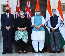 India and Australia call for free and secure Indo-pacific region