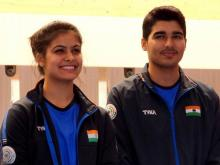 Manu and Saurabh finish seventh in 10M Air Pistol Mixed Team at Tokyo 2020