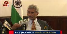 No mediation needed on Kashmir says EAM S. Jaishankar