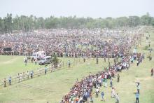 Star campaigners of various political parties hold rallies