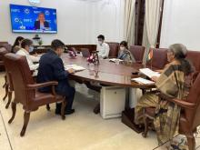 FM Nirmala Sitharaman attends Plenary Meeting of International Monetary and Financial Committee (IMFC) of IMF through video-conference