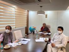 Finance Minister Nirmala Sitharaman meets heads of insurance companies for faster claim settlement