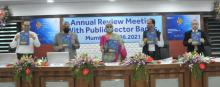 Finance Minister unveils 4th edition of Public Sector Bank Reforms Agenda - EASE 4.0 in Mumbai