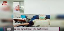 सेंट जॉन्स एंबुलेंस बिग्रेड कर रही है दिल्ली में रक्तदान