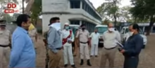 गोविंदपुर पंचायत क्षेत्र मे कोरोना वायरस को लेकर जागरूकता फैला रही है अफ़रोज़ा
