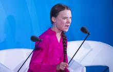 16-year old Swedish climate change activist Greta Thunberg addresses UN Climate action summit 2019