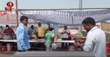 यूपी: लखनऊ प्रयागराज हाइवे पर रायबरेली टोल प्लाजा पर श्रमिकों का विशेष ख्याल