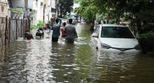 तेलंगाना और कर्नाटक के कई हिस्सों में बारिश से बाढ़ के हालात