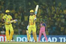 Hosts Chennai Super King beat Rajasthan Royals