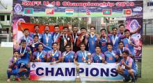 India lifts SAFF Under-18 Football Championship 2019
