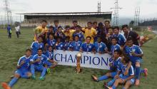 India wins South Asian Football Federation Under 15 Championship