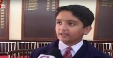 School students in Srinagar to celebrate a green Diwali