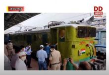 जबलपुर में रेल का इंजन बना आत्मनिर्भर, बैटरी से दौड़ रहा पटरी पर