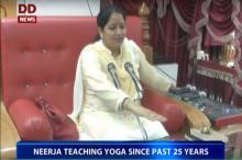 Good News: Neerja teaching Yoga since past 25 years