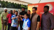खेल मंत्री किरेन रिजिजू ने विशेष ओलंपिक मशाल का किया स्वागत