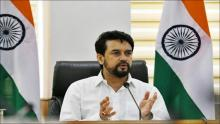 Union Sports Minister Anurag Thakur & MOS, Sports, Nisith Pramanik to send-off first batch of Indian athletes for Tokyo Olympics