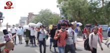 ग्राउंड रिपोर्ट: बॉर्डर पर मजदूरों की आवाजाही जारी, लोगों ने रखा अपना पक्ष