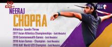 स्टार भारतीय जेवलिन थ्रोअर नीरज चोपड़ा की टोक्यो ओलिंपिक पर नज़र