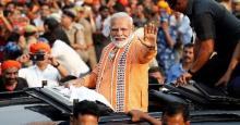 PM Modi holds roadshow in Varanasi