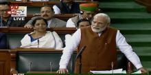 PM Modi replies to Motion of Thanks on President's Address in Lok Sabha