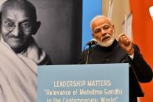 PM Modi speaks at 'Relevance of Mahatma Gandhi in the Contemporary World' event in UN