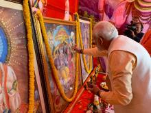 PM Modi attends Dussehra celebrations in Delhi's Dwarka