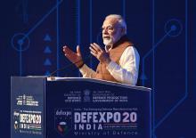 PM  Modi addresses DefExpo2020 at Lucknow, Uttar Pradesh