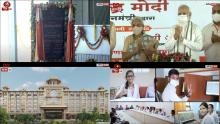 PM Modi lays foundation stone of Raja Mahendra Pratap Singh State University in Aligarh