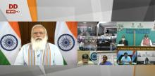 PM launches 'Customized Crash Course programme for Covid 19 Frontline workers'