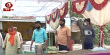 प्रवासी मजदूरों के लिए भाजपा की ओर से भोजन पानी की विशेष व्यवस्था