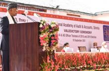 Audit engagements provide a unique opportunity of gaining deep understanding of system and place cag in a good position of suggesting improvements: President Kovind