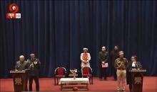 Radha Krishana Mathur takes over as administrator of Ladakh