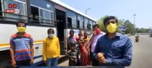 राजस्थान: अपने घर लौट रहे हैं प्रवासी मजदूर