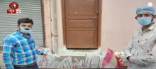 मध्य प्रदेश के सागर जिले के युवा घर-घर पहुंचा रहे ऱाशन