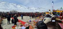 लद्दाख में पहले खेलो इंडिया जंस्कार शीतकालीन खेल महोत्सव का उद्घाटन