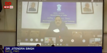 CARUNA initiative has helped govt. sail smoothly in times of pandemic: Union Minister Jitendra Singh