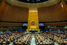 76th General Assembly gets underway at UN Headquarters in New York