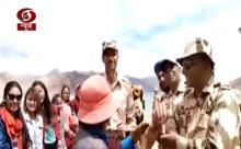 Ladakh: Local Women & Girls tie Rakhis to ITBP Personnel