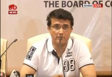 Ganguly: Head Coach will be announced in a few days