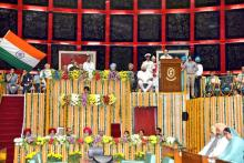 Vice President Venkaiah Naidu attends special session of Punjab assembly