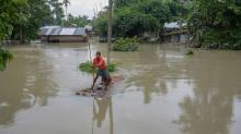 Flood situation remains grim in Assam and Bihar